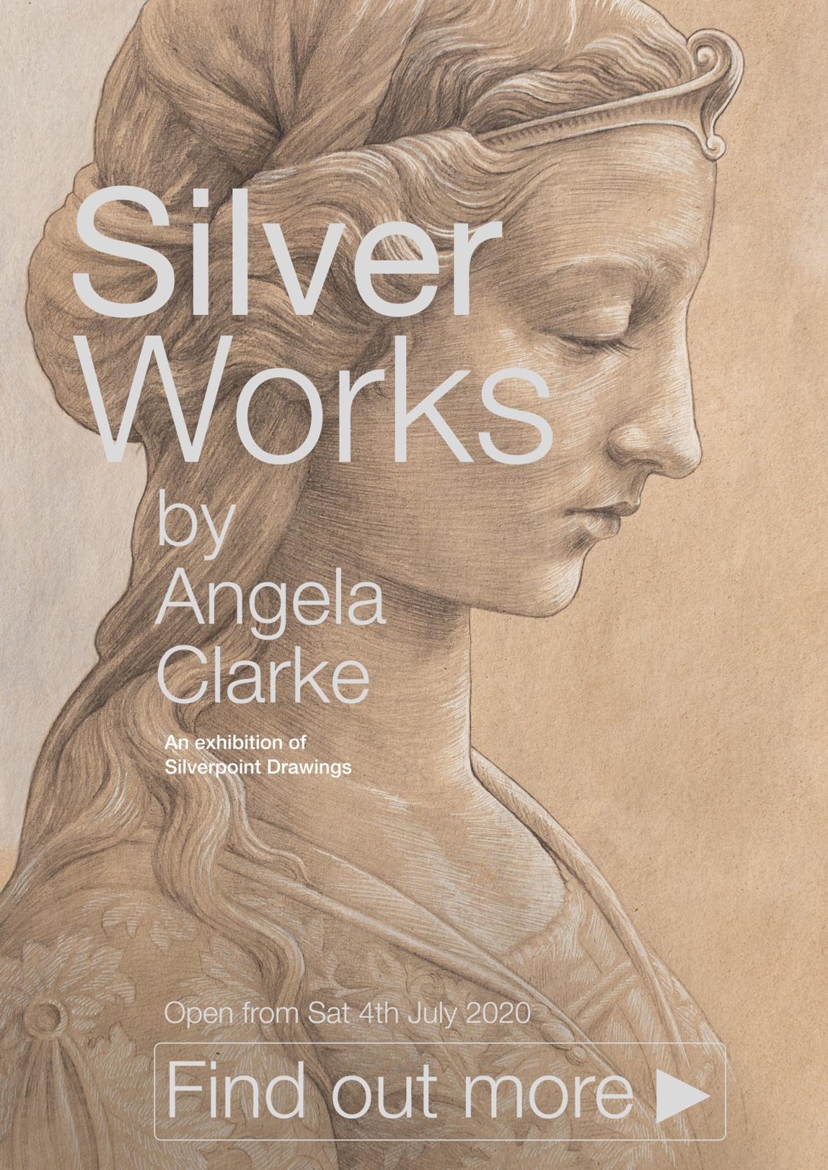 SilverWorks exhibition by Angela Clarke